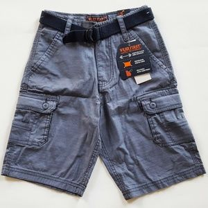 Wear First Boy's Cargo Belted Casual Shorts, NWT
